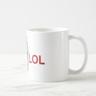 Meme de LOL Mug Blanc