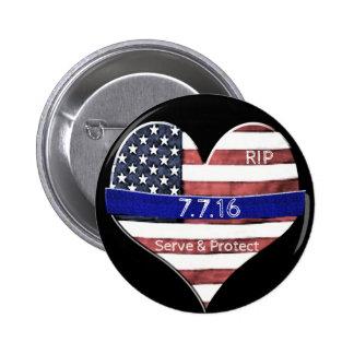 Mémorial de police de Dallas Badges