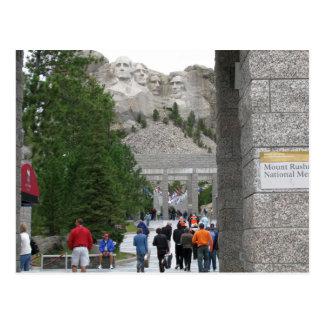 Mémorial du mont Rushmore, le Dakota du Sud, carte