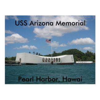 Mémorial d'USS Arizona, Pearl Harbor, Hawai Carte Postale