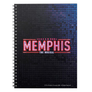 MEMPHIS - le logo musical Carnet À Spirale