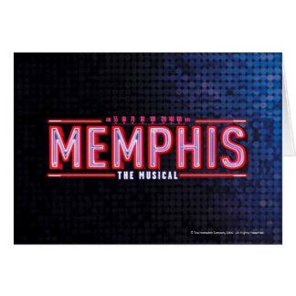 MEMPHIS - le logo musical Carte De Vœux