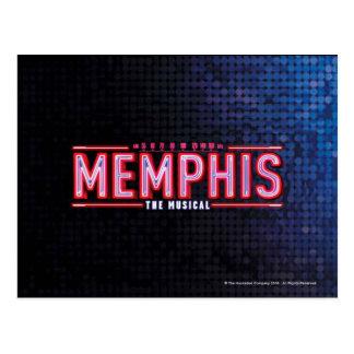 MEMPHIS - le logo musical Carte Postale