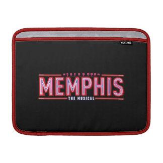 MEMPHIS - le logo musical Poches Macbook
