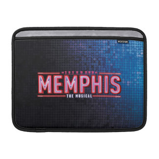MEMPHIS - le logo musical Poches Pour Macbook Air