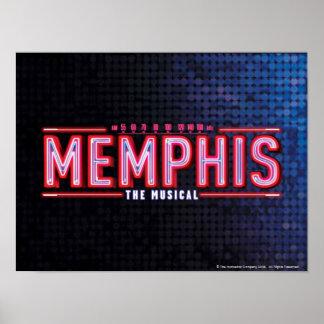 MEMPHIS - le logo musical Posters