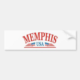 Memphis Tennessee Etats-Unis Autocollant De Voiture