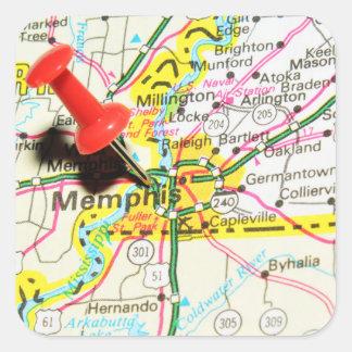 Memphis, Tennessee Sticker Carré