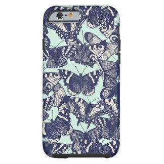 menthe pâle de papillon coque tough iPhone 6
