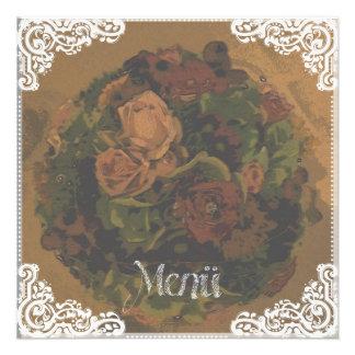 «Menu» - carte Vintage