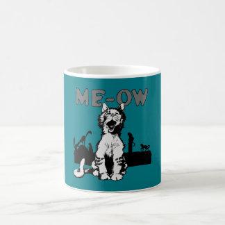 Meow Mug Blanc