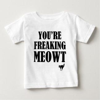 meow t-shirt pour bébé