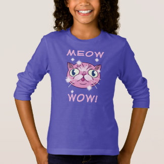 Meow wow ! Chemise T-shirt