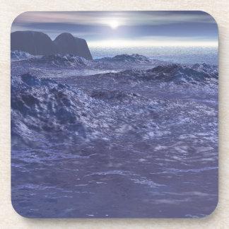 Mer congelée de Neptune Dessous-de-verre