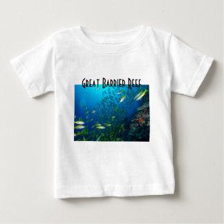 Mer de corail de la Grande barrière de corail de T-shirt
