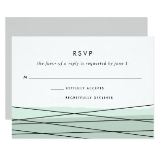 Mer de la carte | de la linéation RSVP