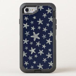 Mer de motif d'étoiles de mer coque otterbox defender pour iPhone 7