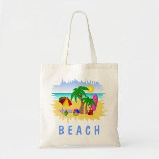 Mer de Sun de plage et sac de plage de Fourre-tout