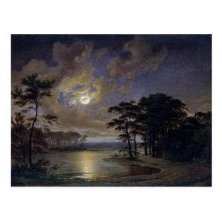 Mer du Holstein - clair de lune, 1847 Carte Postale