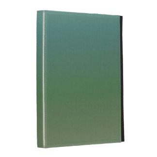 Mer verte bleue d Ombre Étui iPad Folio