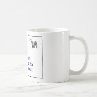 merci à mon transporteur de courrier mug