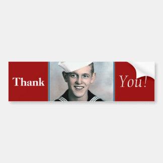 Merci ! - Adhésif pour pare-chocs de vétéran Autocollant Pour Voiture