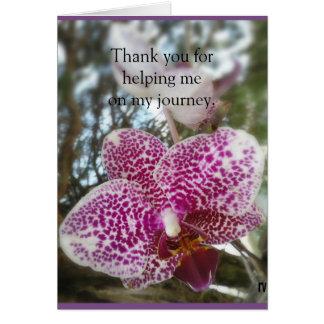 Merci aux défenseurs des survivants de SEAU Carte De Vœux