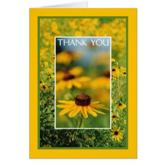Merci - carte de voeux Noir-Eyed de Susans