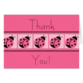 Merci cartes réunies par coccinelle