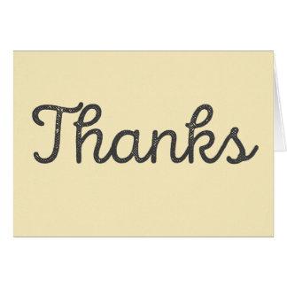 Merci, celui étaient gentils cartes de vœux