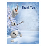 Merci congelé d'Olaf