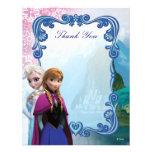 Merci d'anniversaire d'Anna congelée et d'Elsa Faire-parts