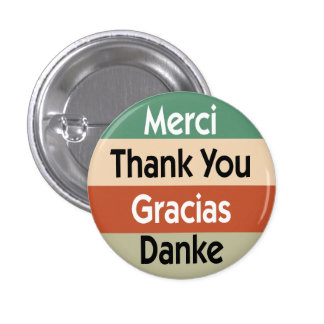 Merci dans 4 langues pin's