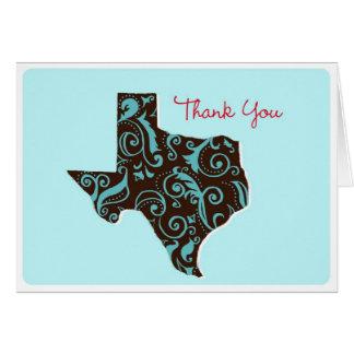 Merci du Texas Cartes