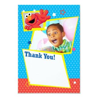 Merci extrême personnalisable d'Elmo Carton D'invitation 8,89 Cm X 12,70 Cm