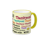 Merci ! , Merci, merci. ! ! ! , Merci, T… Mugs