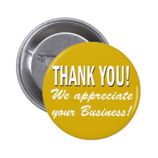 Merci nous apprécions vos affaires badges