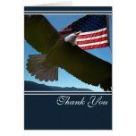 Merci patriotique d'Eagle Carte De Vœux