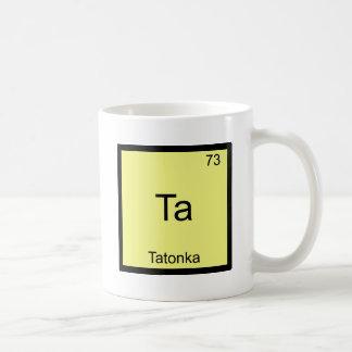 Merci - pièce en t drôle de symbole d'élément de mug blanc