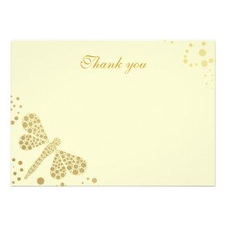 Merci plat de Pointillism de libellule d ivoire et