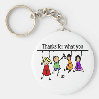Merci pour ce que vous enseignez à art de porte-clés