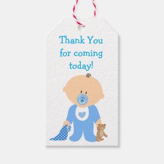 Merci pour la prochaine étiquette bleue de cadeau