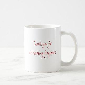 Merci pour le parfum de port mug