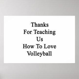 Merci pour nous enseignant comment aimer le poster