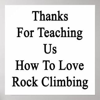 Merci pour nous enseignant comment aimer poster