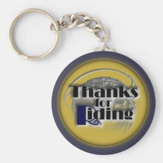 Merci pour porte - clé de monte porte-clé rond