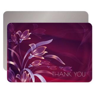 Merci pour s'occuper des cartes de fête carton d'invitation 8,89 cm x 12,70 cm