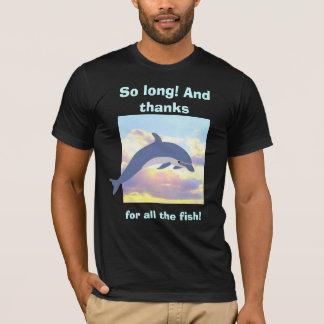 Merci pour tout le T-shirt de poissons