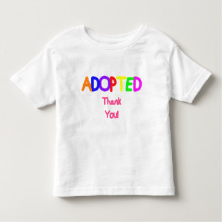 Merci rose adopté t-shirt