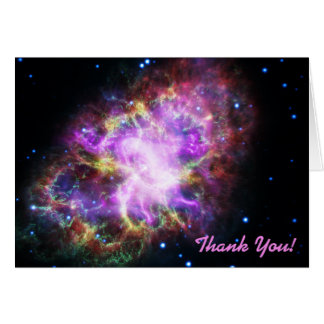 Merci rose d'image de l'espace de nébuleuse de cartes de vœux